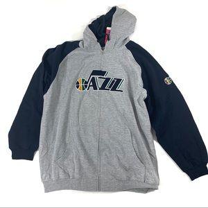 Utah Jazz  NBA 3XLT Zipper sweatshirt
